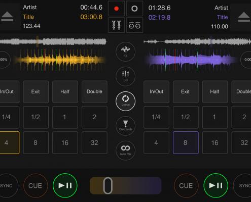 DJ DEX app loops