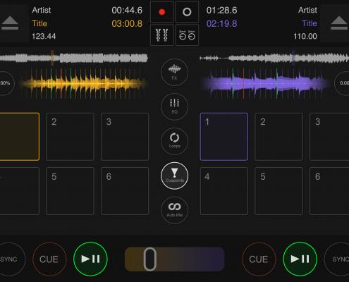 DJ DEX App hot cues