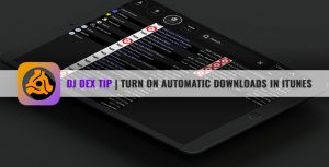 DJ DEX DJ mixing app for iPad