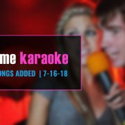 download new karaoke songs from Party Tyme