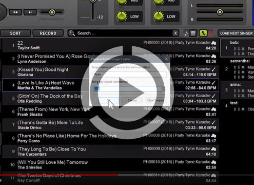 LYRX 1.3 karaoke software for MAC
