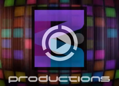 DEX 3 DJ software using shaders and overlays