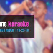New Karaoke Songs with Party Tyme Karaoke Subscription
