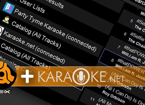 DEX 3 with Karaoke.net Support