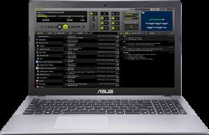 LYRX on Windows laptop