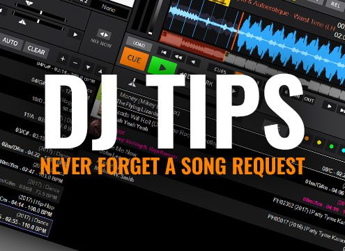 Never forget a song request