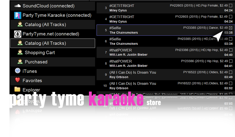 DEX 3 with Party Tyme Karaoke Store