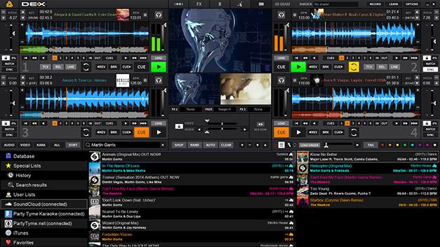 DEX 3 Pro DJ Mixing Software