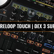 Reloop Touch DJ software supported by DEX 3 DJ software