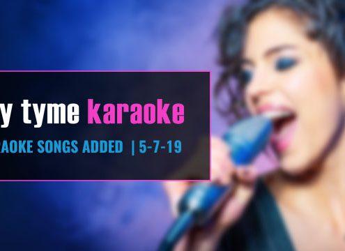 Karaoke Subscription Update 5-7-19