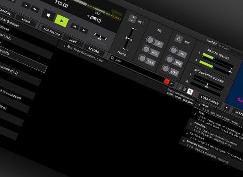 DEX 3 with LYRX karaoke skin