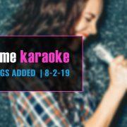 Karaoke subscription new songs