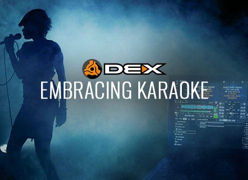 DEX 3 DJ Software for Karaoke