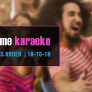Best karaoke subscription update 10-16-19
