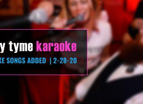 best karaoke system song update