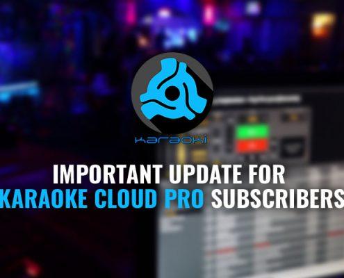 karaoki Update for karaoke cloud pro