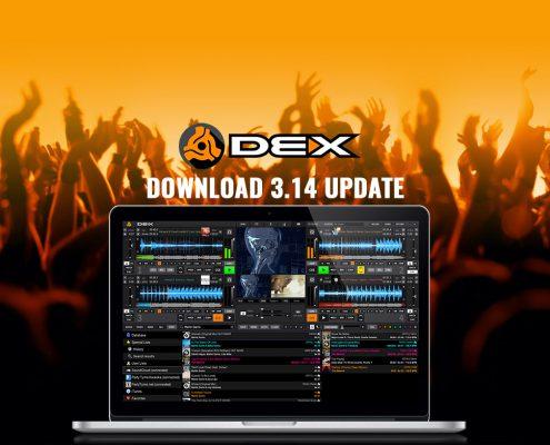 DEX 3.14 DJ Software update