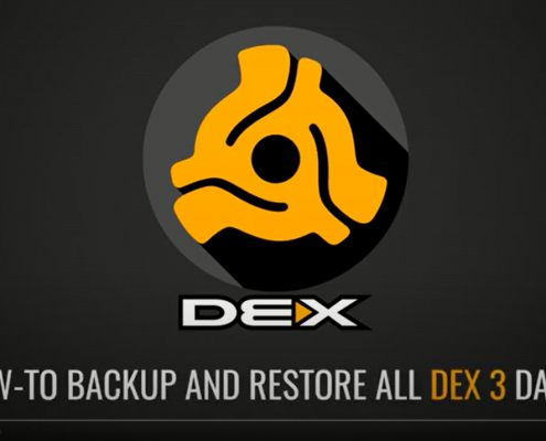 How to backup and restore DEX 3 or LYRX