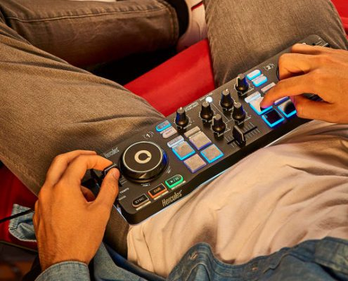 Small Compact DJ Controllers that work with DEX 3 DJ Software