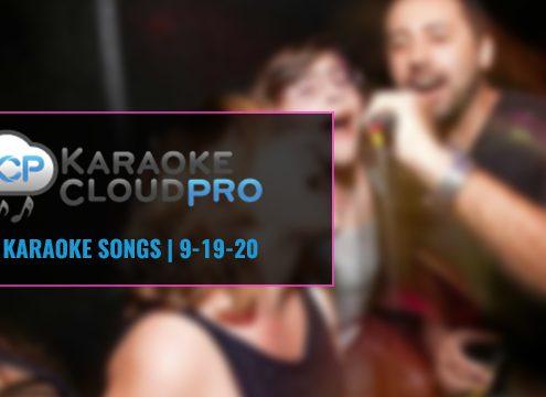 Karaoke Cloud Pro Subscription New Songs