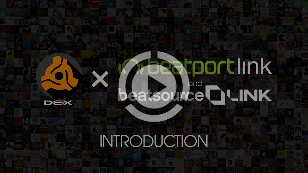 LINK support in DEX 3 DJ software