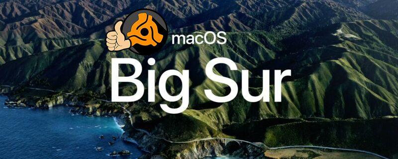 macOS Big Sur DEX 3 DJ Software Support