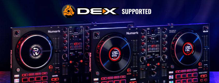 Numark DJ Controllers and DEX 3 DJ Software