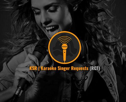DEX 3.16 with Karaoke Singer Request Online Songbook