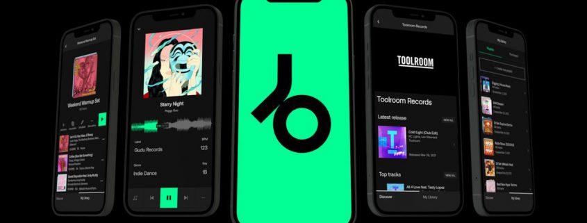 Beatport LINK Mobile App
