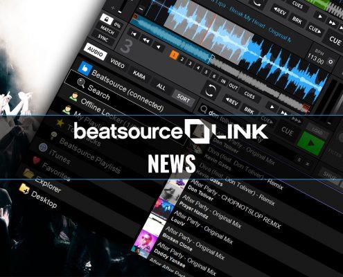 Beatsource LINK streaming for DJs