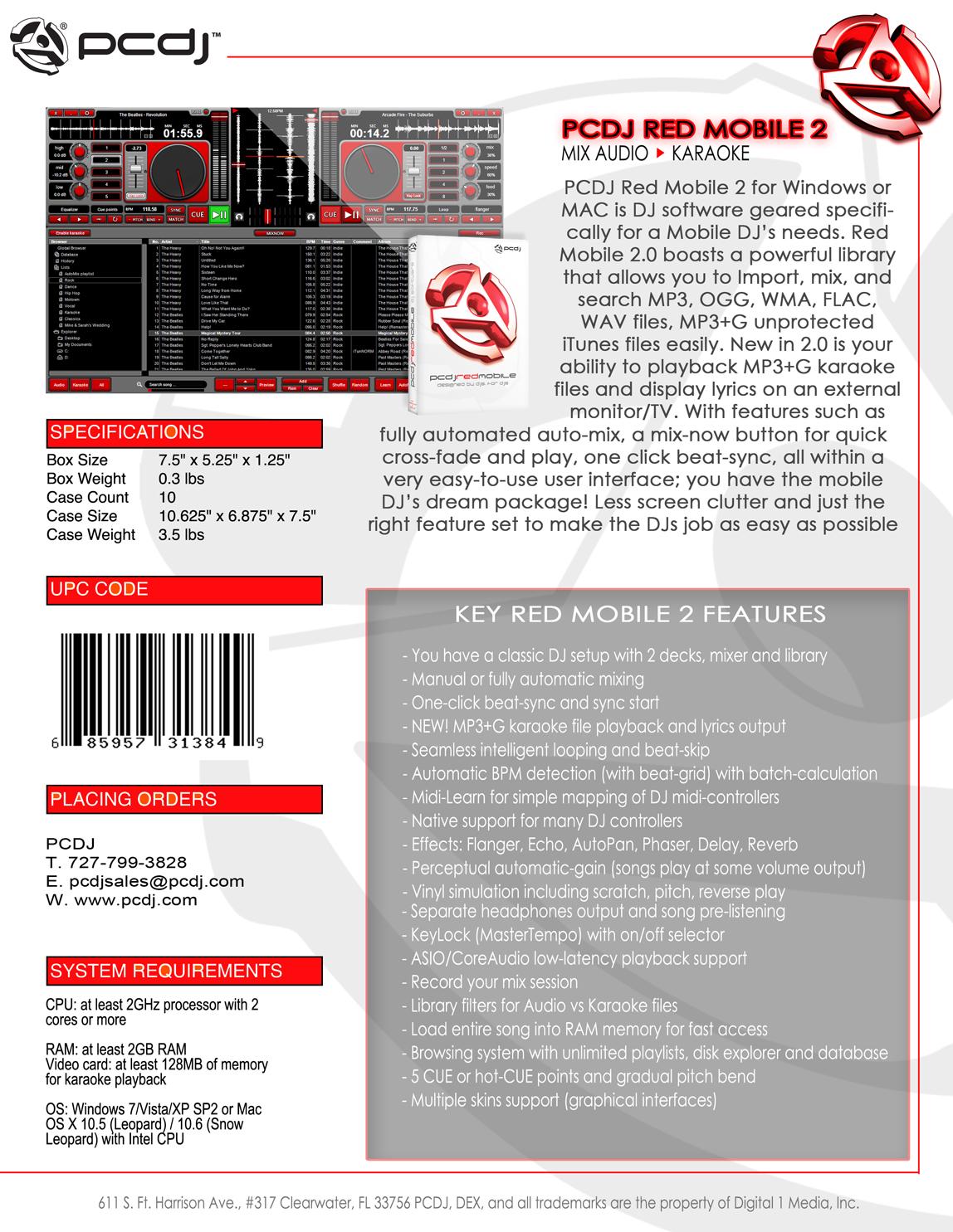 pcdj red activation key